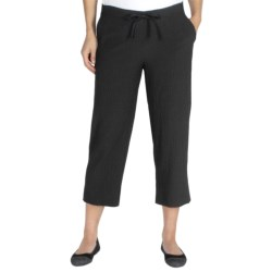 ExOfficio Savvy Capris (For Women) in Black