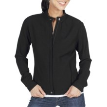 ExOfficio Savvy Zippy Jacket - Long Sleeve (For Women) in Black - Closeouts