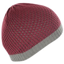 ExOfficio Senora Beanie Hat - Reversible (For Women) in Wine - Closeouts