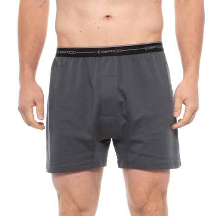 ExOfficio Sol Cool Boxers (For Men) in Carbon