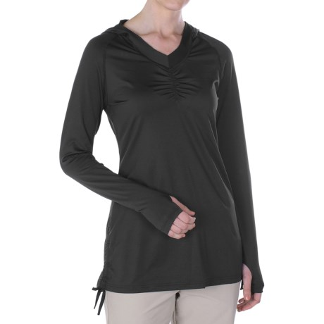 ExOfficio Sol Cool Hoodie - UPF 50+ (For Women) in Black