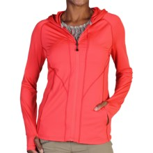 ExOfficio Sol Cool Hoodie - UPF 50+ (For Women) in Grenadine - Closeouts