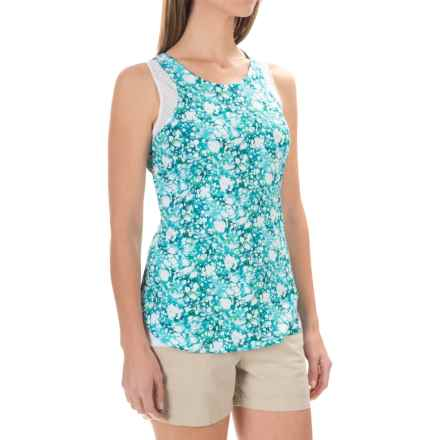 ExOfficio Sol Cool Print Tank Top - UPF 50 (For Women) in Deep Sea Print - Closeouts