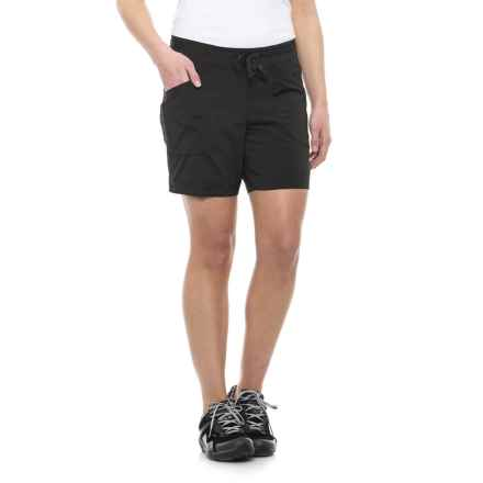 ExOfficio Sol Cool Shorts - UPF 30 (For Women) in Black - Closeouts