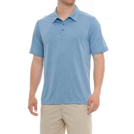ExOfficio Sol Cool Signature Polo Shirt - UPF 50, Short Sleeve (For Men) in Silverlake - Closeouts