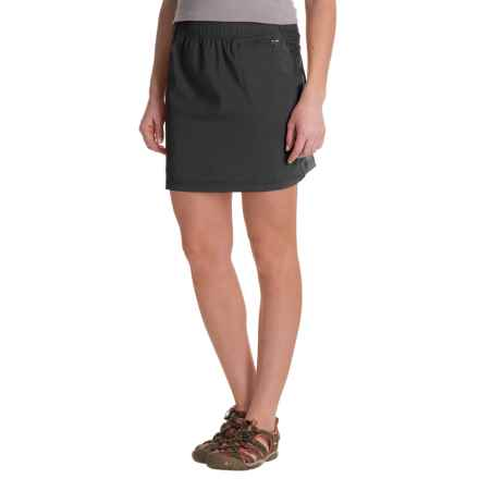 ExOfficio Sol Cool Skirt - UPF 50 (For Women) in Black - Closeouts