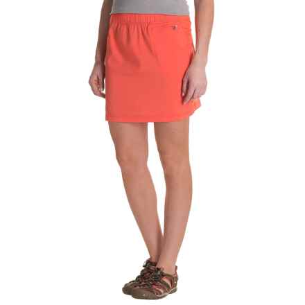 ExOfficio Sol Cool Skirt - UPF 50 (For Women) in Hot Coral - Closeouts