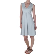 ExOfficio Sol Cool Sundress - UPF 50+, Sleeveless (For Women) in Oyster - Closeouts