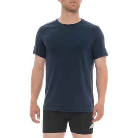 ExOfficio Sol Cool T-Shirt - Crew Neck, Short Sleeve (For Men) in Navy - Closeouts