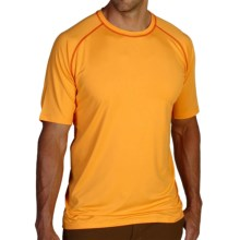 ExOfficio Sol Cool T-Shirt - Short Sleeve (For Men) in 3730 Mango - Closeouts