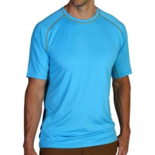 ExOfficio Sol Cool T-Shirt - Short Sleeve (For Men) in 5421 Malibu - Closeouts