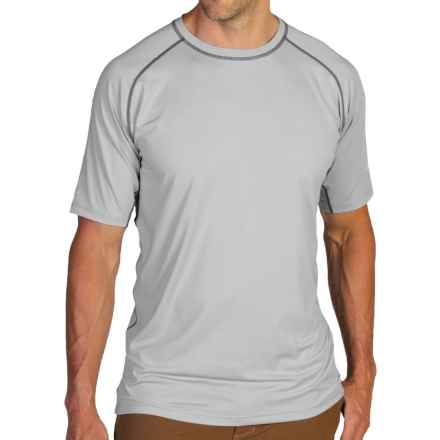 ExOfficio Sol Cool T-Shirt - Short Sleeve (For Men) in 9210 Oyster - Closeouts