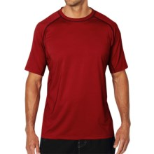 ExOfficio Sol Cool T-Shirt - Short Sleeve (For Men) in Hydrant - Closeouts