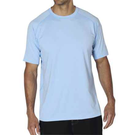ExOfficio Sol Cool T-Shirt - Short Sleeve (For Men) in Light Lapis - Closeouts