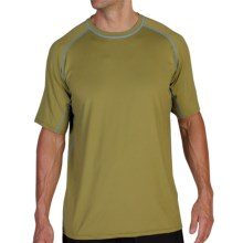 ExOfficio Sol Cool T-Shirt - Short Sleeve (For Men) in Oregano - Closeouts