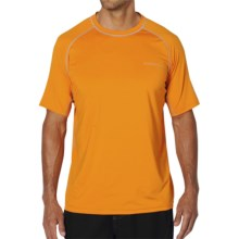 ExOfficio Sol Cool T-Shirt - Short Sleeve (For Men) in Persimmon - Closeouts