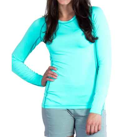 ExOfficio Sol Cool T-Shirt - UPF 50+, Long Sleeve (For Women) in Azul - Closeouts