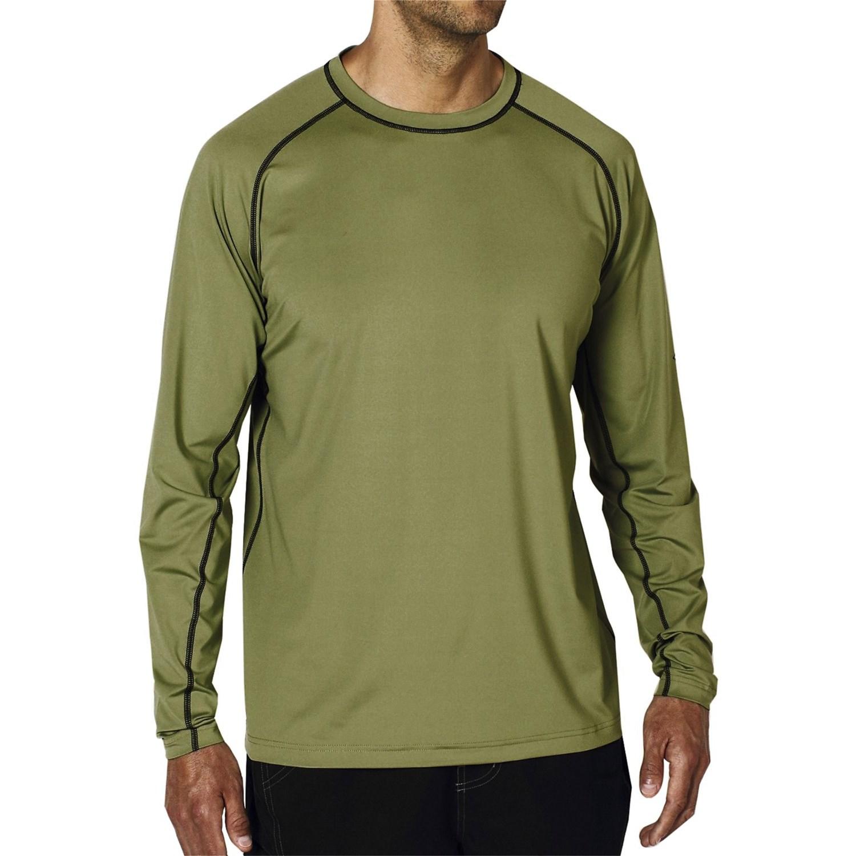 Exofficio sol cool t shirt upf 50 long sleeves for for Men s upf long sleeve shirt