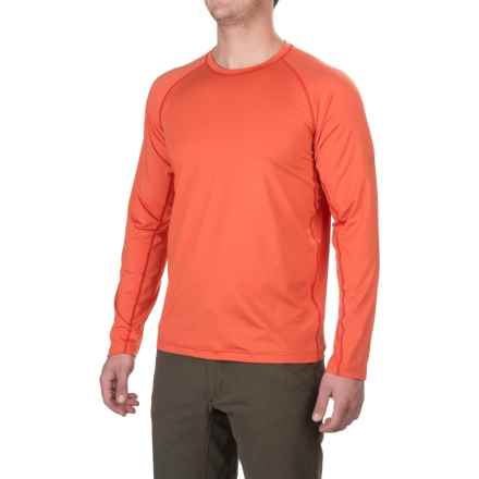 ExOfficio Sol Cool T-Shirt - UPF 50+, Long Sleeves (For Men) in Fire Opal - Closeouts