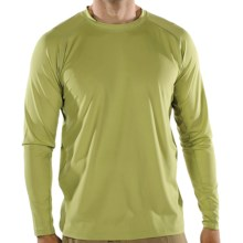 ExOfficio Sol Cool T-Shirt - UPF 50+, Long Sleeves (For Men) in Light Aloe - Closeouts