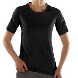 ExOfficio Sol Cool T-Shirt - UPF 50+, Short Sleeve (For Women) in Light Lapis