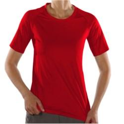 ExOfficio Sol Cool T-Shirt - UPF 50+, Short Sleeve (For Women) in Rose Hip