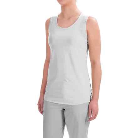 ExOfficio Sol Cool Tank Top - UPF 50 (For Women) in White - Closeouts