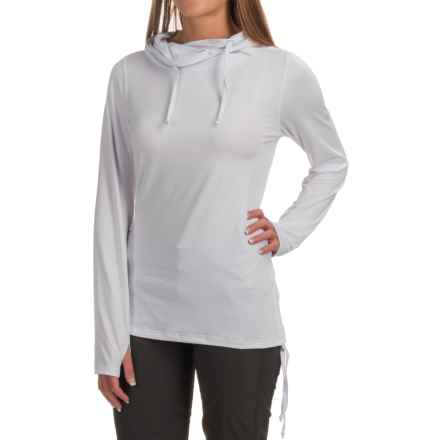 ExOfficio Sol Cool Ultimate Hooded Shirt - UPF 50, Long Sleeve (For Women) in White - Closeouts