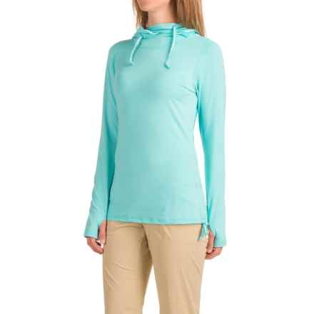 ExOfficio Sol Cool Ultimate Hoodie - UPF 50 (For Women) in Azul - Closeouts