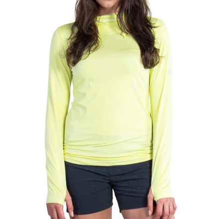 ExOfficio Sol Cool Ultimate Hoodie - UPF 50 (For Women) in Pear - Closeouts