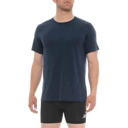ExOfficio Sol Cool Undershirt - Short Sleeve (For Men) in Navy - Closeouts