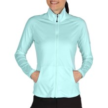 ExOfficio Sol Cool Zippy Jacket (For Women) in Light Turqouise - Closeouts