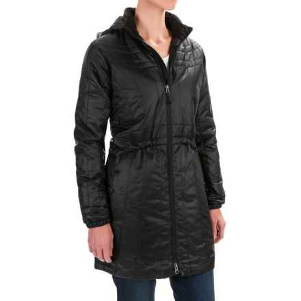 ExOfficio Storm Logic Coat - PrimaLoft® (For Women) in Black - Closeouts