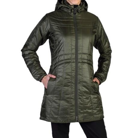 ExOfficio Storm Logic Coat - PrimaLoft® (For Women) in Highlands