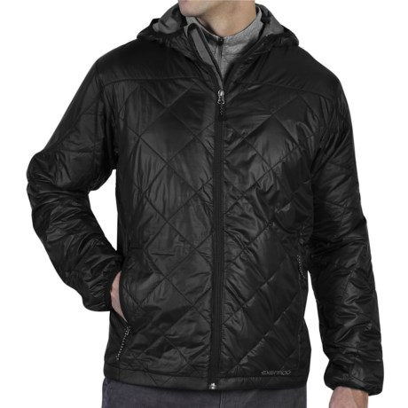 ExOfficio Storm Logic Hooded Jacket - Insulated (For Men) in Black