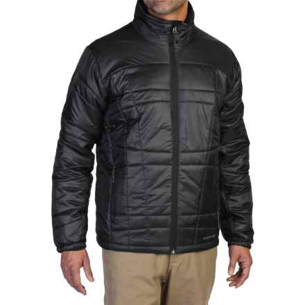 ExOfficio Storm Logic Jacket - PrimaLoft® (For Men) in Black - Closeouts