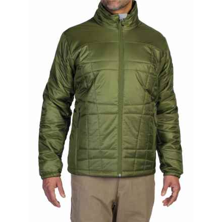 ExOfficio Storm Logic Jacket - PrimaLoft® (For Men) in Meadow - Closeouts