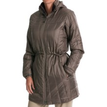 ExOfficio Storm Logic PrimaLoft® Coat - Insulated (For Women) in Cigar - Closeouts