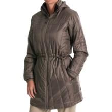 ExOfficio Storm Logic PrimaLoft® Coat - Insulated (For Women) in Cigar - Closeouts