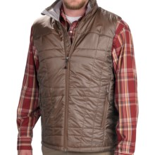 ExOfficio Storm Logic PrimaLoft® Vest - Insulated (For Men) in Cigar - Closeouts