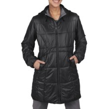 ExOfficio Storm Logic Ripstop Coat (For Women) in Black - Closeouts