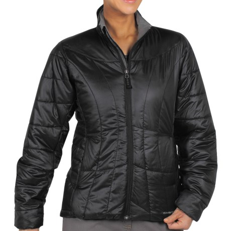 ExOfficio Storm Logic Ripstop Jacket - Insulated (For Women) in Black