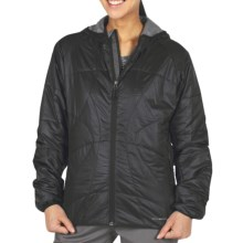 ExOfficio Storm Logic Sweater Jacket - PrimaLoft® (For Women) in Black - Closeouts