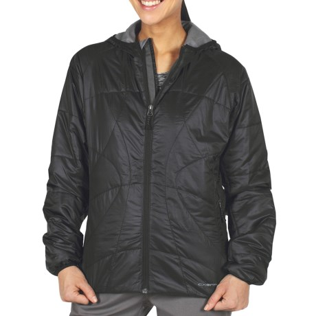 ExOfficio Storm Logic Sweater Jacket - PrimaLoft® (For Women) in Black