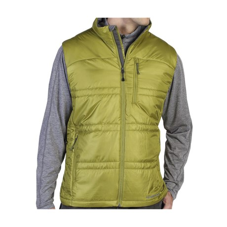 ExOfficio Storm Logic Vest - Insulated (For Men) in Leaf Green
