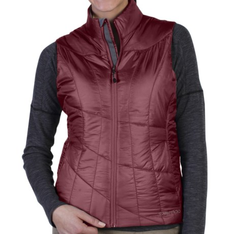 ExOfficio Storm Logic Vest - Insulated (For Women) in Cordovan