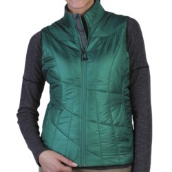 ExOfficio Storm Logic Vest - Insulated (For Women) in Dark Patina