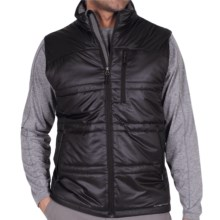 ExOfficio Storm Logic Vest - PrimaLoft® (For Men) in Black - Closeouts