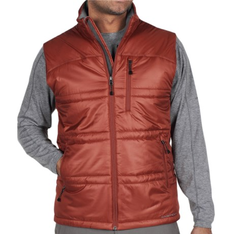 ExOfficio Storm Logic Vest - PrimaLoft® (For Men) in Brick