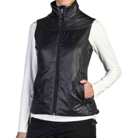 ExOfficio Storm Logic Vest - PrimaLoft® (For Women) in Black - Closeouts